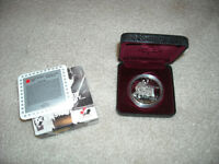 """1997 Sterling Silver BU $1 Dollar Coin, """"34 Seconds to Eternity"""""""