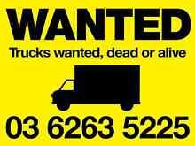 Get cash for Trucks Bridgewater Brighton Area Preview