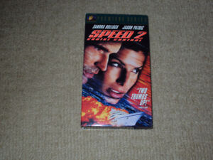 SPEED 2, VHS MOVIE, EXCELLENT CONDITION