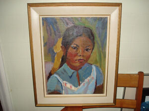 Plusieurs tableaux d'artistes connues. Arstis paintings for sale