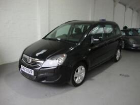 Vauxhall/Opel Zafira 1.7CDTi 16v ecoFLEX ( 110ps ) Exclusiv, 2014, Black, 41k