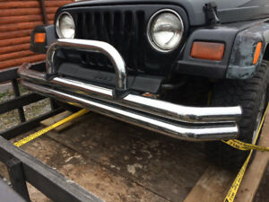Jeep TJ Chrome bumpers