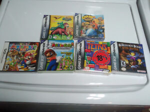 Sealed GBA Games + Sealed Mario Party DS