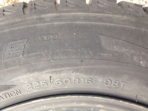 4 Michelin X-ice Xi2 tires on rims Oakville / Halton Region Toronto (GTA) image 6