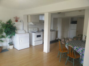 2 bedroom of walk out basement for rent