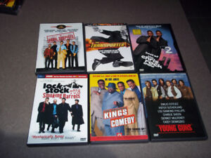 DVDs (Various)