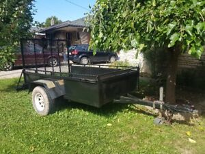5x8 foot utility trailer perfect!