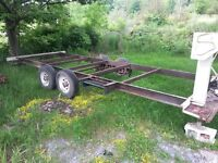 19' x 6' utility trailer project