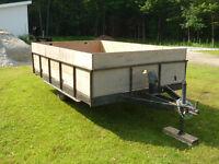 trailer remorque $ 450.00