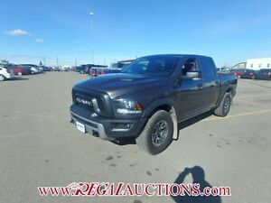2016 RAM 1500 REBEL CREW CAB SWB 4WD 5.7L REBEL