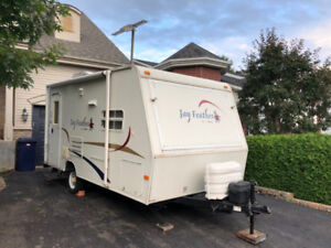 Roulotte hybride Jayco Jay Feather Exp 18F 2005 travel trailer