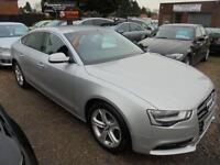 2013 63 AUDI A5 2.0 SPORTBACK TDI SE S/S 5D AUTO 148 BHP 60 POINT CHECK ALL CARS