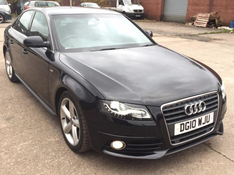 AUDI A4 2.0 TDI S LINE AUTOMATIC,HPI CLEAR,1 OWNER,SAT NAV,LEATHER,CRUISE,XENON