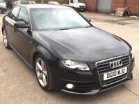 AUDI A4 2.0 TDI S LINE AUTOMATIC,HPI CLEAR,1 OWNER,SAT NAV,LEATHER,6 AUDI SERVCS