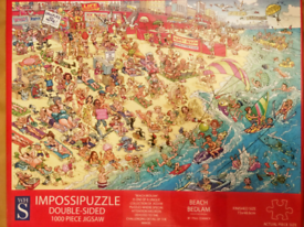 1000 Piece DOUBLE SIDED Puzzle!