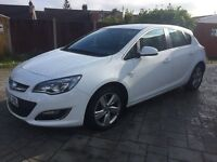 2013 1.4 turbo VVT SRI Vauxhall Astra 34000 excellent condition