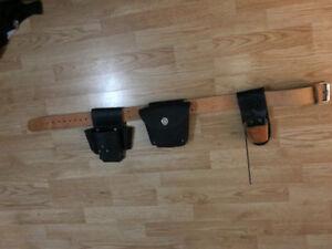 New Leather Scaffolding/Carpentery Belt