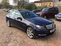 2011 Mercedes-Benz C Class 2.1 C220 CDI BlueEFFICIENCY Sport Edition 125