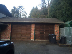Large space garage for leasing