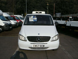 2007/57 MERCEDES-BENZ VITO 115 COMPACT 150 2.1CDI REFRIGERATED DIESEL NO VAT !!