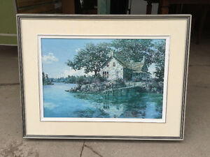 Beautiful Framed Picture Peterborough Peterborough Area image 1