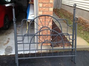 Metal Headboard and Footboard for Double Bed