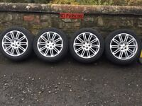 """Landrover Discovery 4 20"""" HSE wheels tyres"""