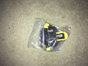 Shimano road cycling cleats yellow 3 degrees of float