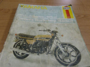 YAMAHA RD400 TWIN HAYNES SHOP MANUAL Cambridge Kitchener Area image 1