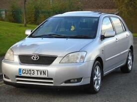 TOYOTA COROLLA 1.4 VVT-i T SPRITE,FULL 12 MONTHS MOT,LOW TAX AND INSURANCE