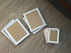 White Picture Frames (10 available)