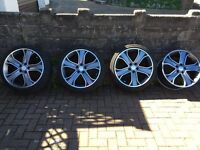 "20"" Alloys off VW T5 Campervan"