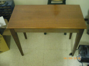 1963 Hammond Organ Bench Walnut Finish