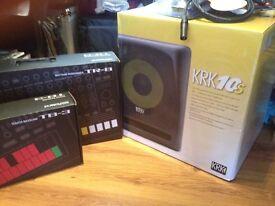 Nearly new KRK10s