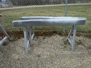 2 Heavy Duty Sawhorse Stands