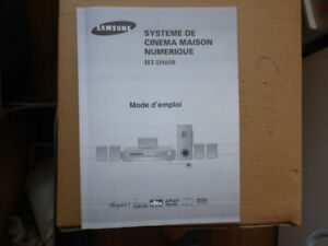 Système de cinéma maison «Samsung » HT-DS650