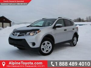 2013 Toyota RAV4 LE  Low Kms - Bluetooth - FWD