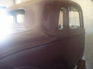 1934 plymouth coupe,, trade  for 55 chev  car