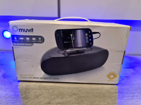 Muvit Music Dock 3.5mm jack stereo speaker with stand