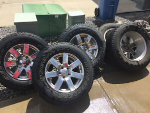 Jeep Wrngler tires and wheels