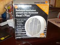 radiateur ventilateur tout en un
