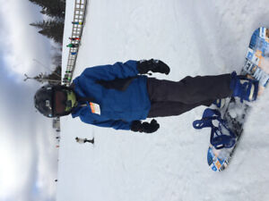 Snowboard with other stuffs