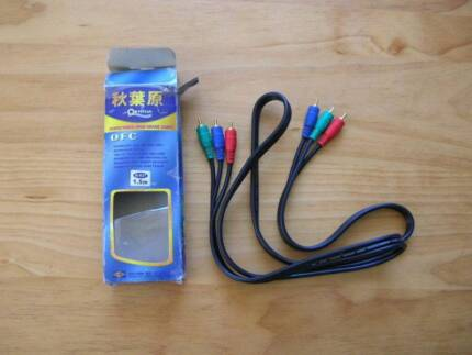 Audio Video cable gold-plated for hi-fi, games, tv, etc Padstow Bankstown Area Preview