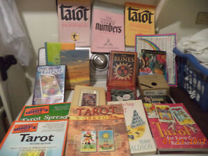 Assorted Tarot books and more