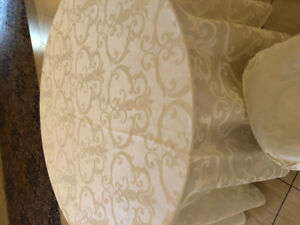 Wedding Decor Table Linen and Chair Covers