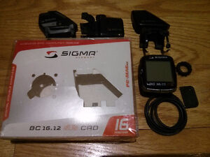 SIGMA BC16.12 StS/CAD Speed+Cadence Wireless Computer