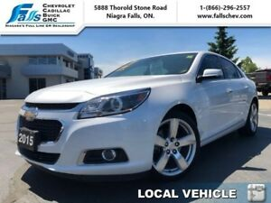 2015 Chevrolet Malibu LTZ  LEATHER,SUNROOF,HEATED SEATS,REARCAM,
