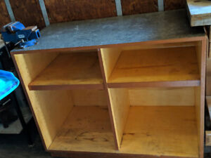 WorkBench Perfect for any garage area, Comes with Vise Grib