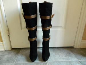 JustFab Amsterdam Knee High Boots Size 6