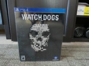 Watch Dogs LE - PlayStation 4 Limited Edition Unopened